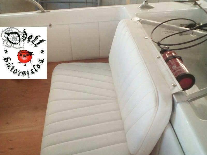 fehér csónak ülés vj