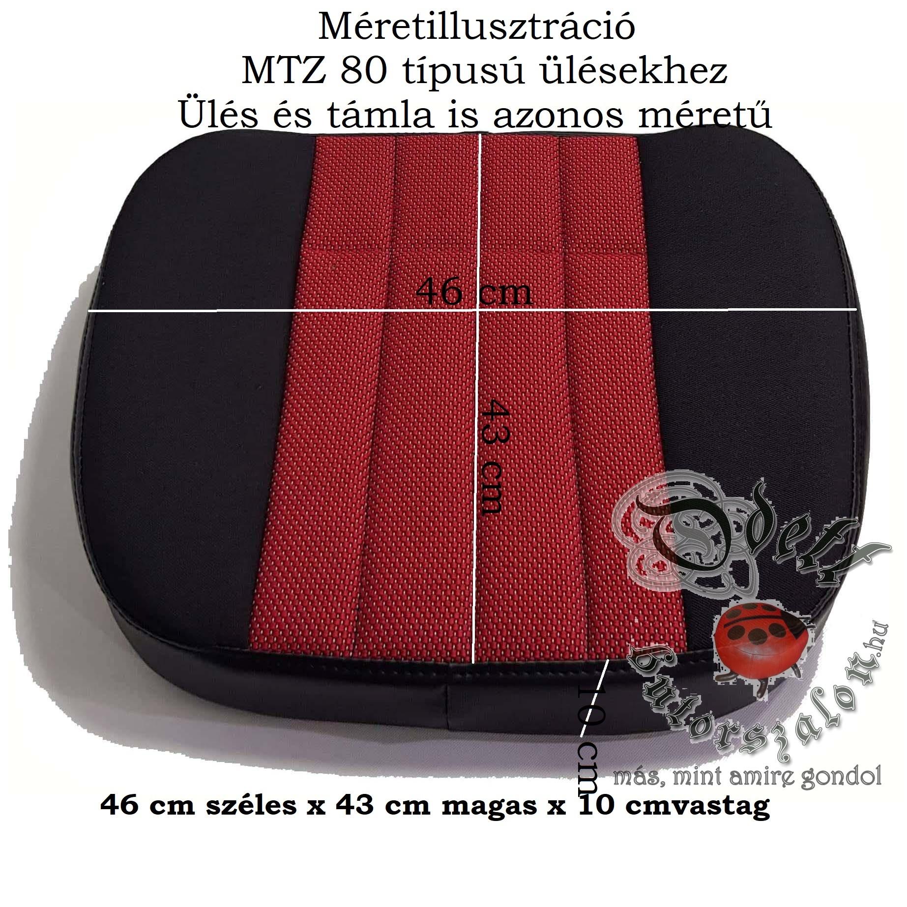 mtz 80 méretezve logo