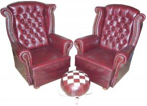Mikulás fotelek + békapuff