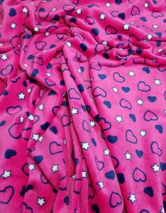 pink-sötétkék szív - csillag